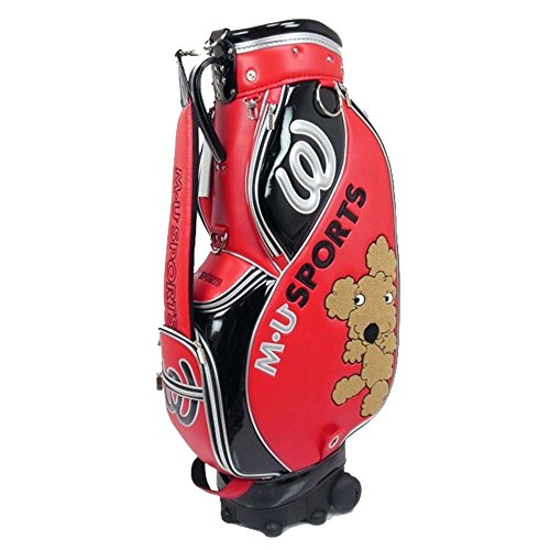 Best Price MU Sports Women 703V7153 Caddie Bag Red