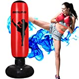 AuGcGoGo 67' Inflatable Punching Bag- Standing Boxing Bag for Adults and Kids,Free Standing Boxing Toy for Kids…