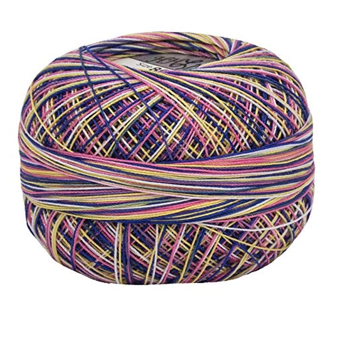 Lizbeth Size 80 HH80 Lizbeth Cotton Thread 184 yds 10 Grams, Tutti Fruitti