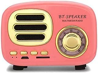 Tebatu Retro Wireless Speaker,Sound Stereo Mini Bluetooth Subwoofer BT02