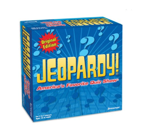 Jeopardy Original Edition Game