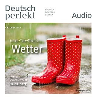 Deutsch perfekt Audio - Das Wetter. 10/2013 cover art