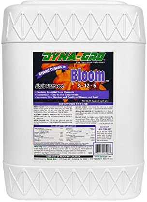 Dyna Gro DYBLM500 BLM 500 5 Gallon Bloom 3 12 6 Liquid Plant Food White product image