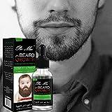 Beard Oil Conditioner for Men - Beard Balm Leave In Conditioner for Mustache & Beard Growth, Beard Care Kit Softener Soothe Wax & Moisturize Skin & Hair Cream Castor Jojoba & More Beard Growth Oil