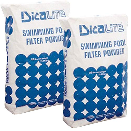 Dicalite Minerals DicaLite-50C DE Diatomaceous Earth Pool Filter Powder Media Aid, 50 lbs