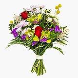 Ramos de flores naturales a domicilio variado Barcelona - Flores frescas - Envío a domicilio 24h GRATIS - Tarjeta dedicatoria incluida - Caja especial para ramos de flores naturales.