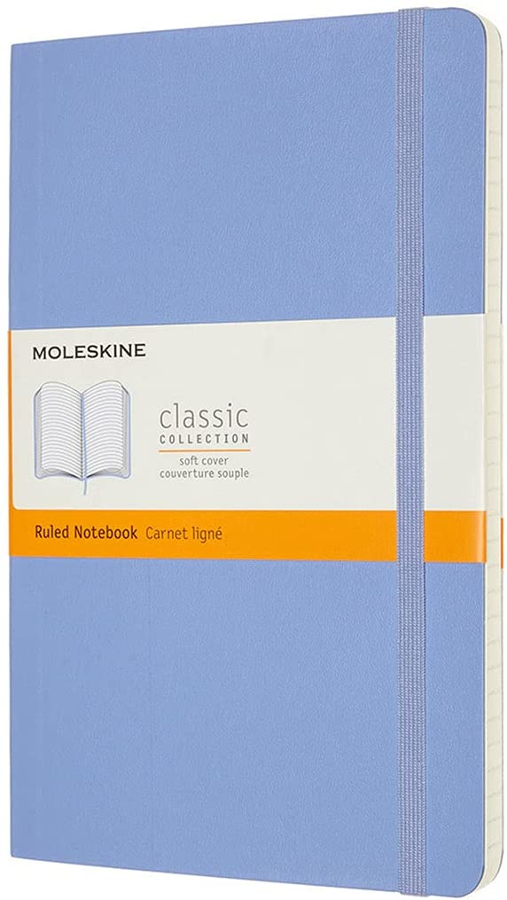Moleskine Classic Notebook Soft Cover Excellence Ruled x 5
