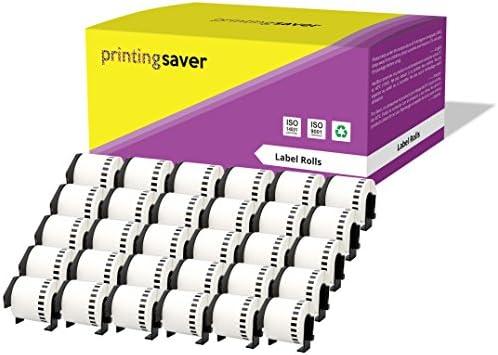 400 Etichette per Rotolo Compatibile Rotolo DK-11208 38mm x 90mm Etichette adesive per Brother P-Touch QL-500 QL-550 QL-560 QL-570 QL-700 QL-720NW QL-800 QL-810W QL-820NWB QL-1050 QL-1100 QL-1110NWB