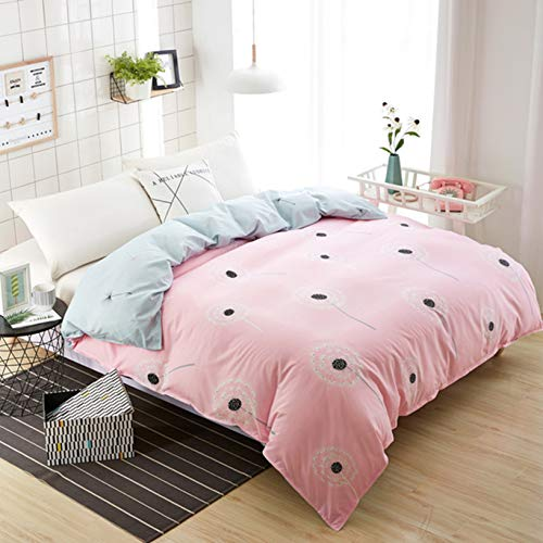 TIANENG 1Pcs Duvet Cover Plaid Stripes Quilt Cover Cotton Bedclothes Soft Hotel Quality Comfortable Lovely Size Polyester