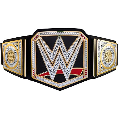 Enweonga WWE Championship Belt- World Heavyweight Wrestling Authentic Championship Gürtel Replik Für Wrestling-Fans Souvenir Collection Crafts Dekorative Wohnaccessoires