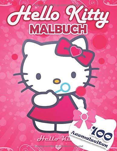 Hello Kitty Malbuch: Malbuch Mit Exklusiven Inoffiziellen Bildern Für Alle Fans - 100 Ausmalseiten