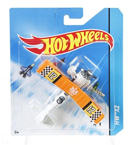 Hot Wheels Aviones de juguete, modelos surtidos (Mattel BBL47)