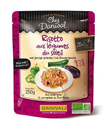 DANIVAL Risotto aux légumes du soleil sans gluten 250G Bio -