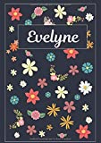 Evelyne: Journal | Agenda | Carnet de Notes | 120 pages | A4 | Blanc | Idée Cadeau