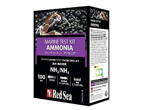 レッドシー アンモニアテストキット(NH3/NH4) 海水用(マリンケアプログラム)