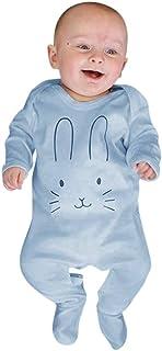 Divertido Pijama,K-Youth Pelele Bebe Niño Conejo Bodies Bebe Manga Larga Body Bebé Recien Nacido Mameluco Bebe Niña Mono para Niños Peleles Bebés Niñas Ropa de Dormir Invierno