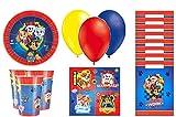 cumpleaños patrulla canina -patrulla canina Kit de cumpleaños 8 Personas