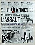 QUOTIDIEN DE PARIS (LE) [No 2614] du 16/04/1988 - MODE - P.YVES GUILLEN - LE LIVRE NOIR DE L'ETAT PS - LE WHO'S WHO - SPORTS - RUGBY A AGEN - ESPACE - 13 PAYS DONT L'U.R.S.S. ET LA FRANCE VONT ENVOYER UNE SONDE SUR MARS ET SON SATELLITE PHOBOS - MITTERRAND - CHIRAC - L'ASSAUT - ATTENTAT DE NAPLES - UN MASSACRE VENU DU JAPON.