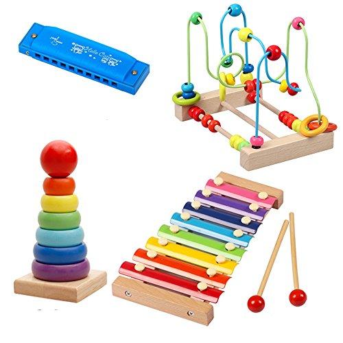 Jouets FEI bébé Instruments de Musique pour 1-2 Ans Début Éducation (Taille : D)