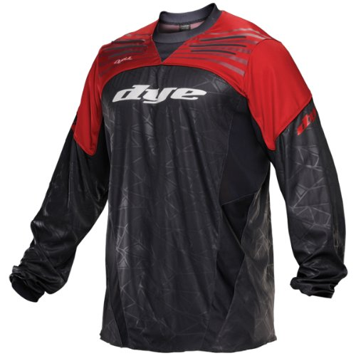 Dye Ultralite C13 Paintball Jersey - Red / Grey - X-Small / Small