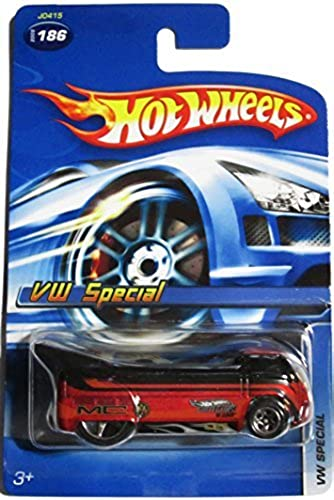 Hot Wheels Exclusive Vw Special Drag Truck schwarz on rot 5 spoke highly detailed collector no UPC clean card 2005  186 1 64 by Hot Wheels