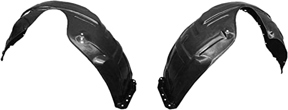 Parts N Go 2002-2006 Camry Fender Liner Pair Driver & Passenger Side Splash Guard - TO1249116, TO1248116, 53875-AA010, 53876-AA010