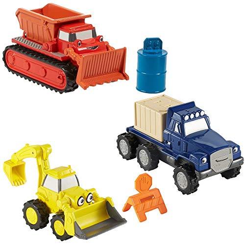 Bob der Baumeister Baustellen Spielset 3er Set | Die Cast Fahrzeuge