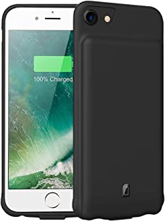 Battery Case for iPhone 6/6s/7/8,4500mAh FNSON Portable Protective Charging Case Compatible with iPhone 6/6s/7/8 (4.7 inch) Rechargeable Extended Battery Charger Case-Black