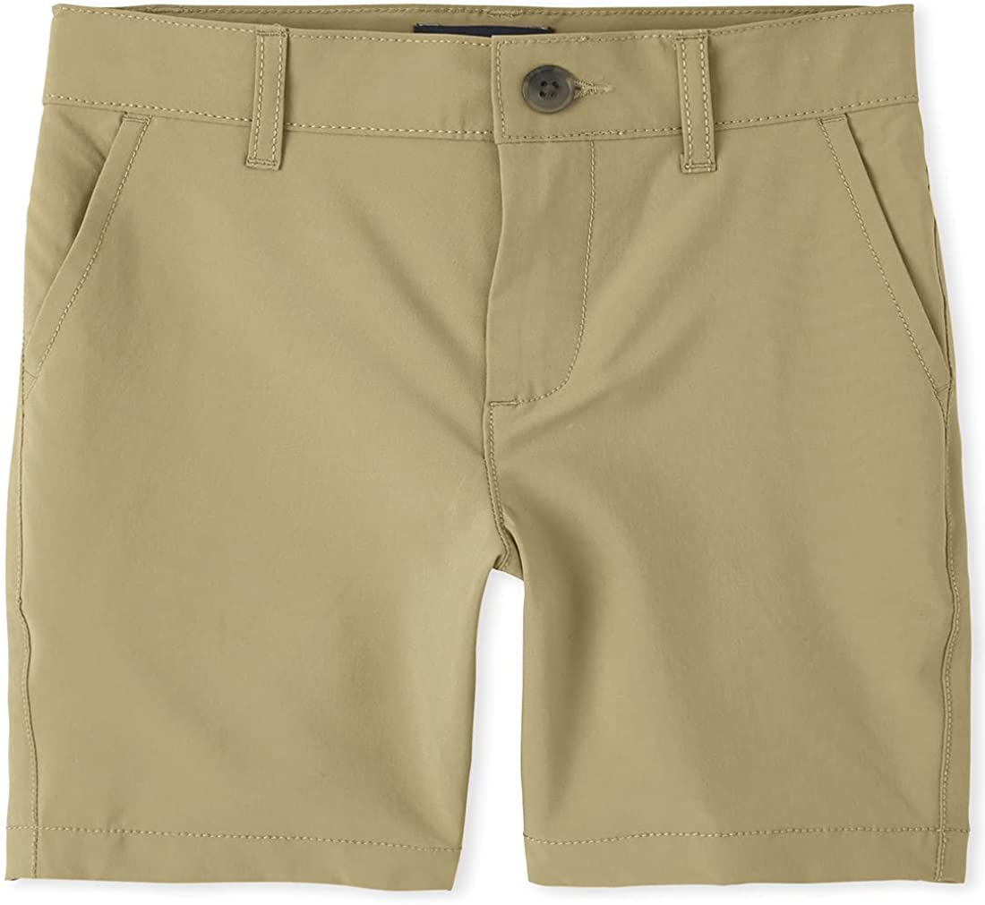 The Children's Place boys Quick Dry Chino Shorts