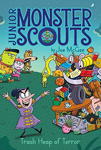 Trash Heap of Terror (Junior Monster Scouts Book 5) (English Edition)