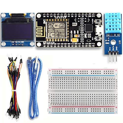Youmile ESP8266 Starter Kit ESP8266 Wetterstation Kit Für IoT Arduino IDE Mit ESP8266 ESP-12E Entwicklungsboard 0,96