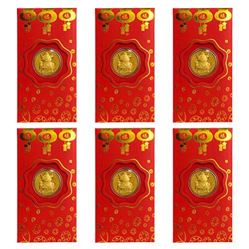 Kylewo 6 Stück Chinesisch Neujahrs...
