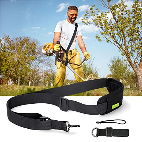 Eloptop Shoulder Strap Trimmer Strap Blower Strap Weed Wacker Strap Universal for Weedeater Leaf Blower, Multi Head System, Weed Eaters Clearance, Compatible with EGO String Trimmer and All Types