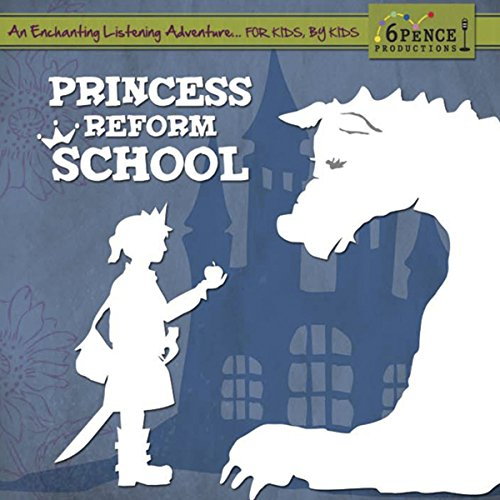 Princess Reform School audiobook cover art