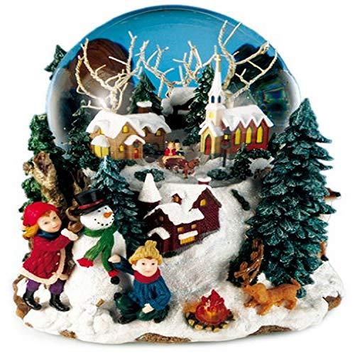 Spieluhrenwelt 46076 Boule à Neige Paysage Hivernal