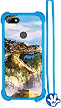 Case for Panasonic Eluga Ray 600 Case Silicone border + PC hard backplane Stand Cover L