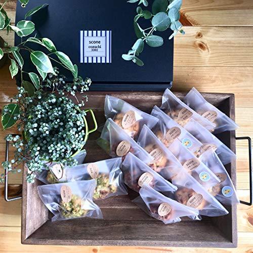 栃木県のスコーン専門店 cozuchi3302 栃木県産小麦粉使用 スコーン5種セット 米粉+落花生ほか5種×各3