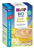 Hipp Gute-Nacht-Brei Grieß Banane 450g, 3er Pack (3 x 450g)