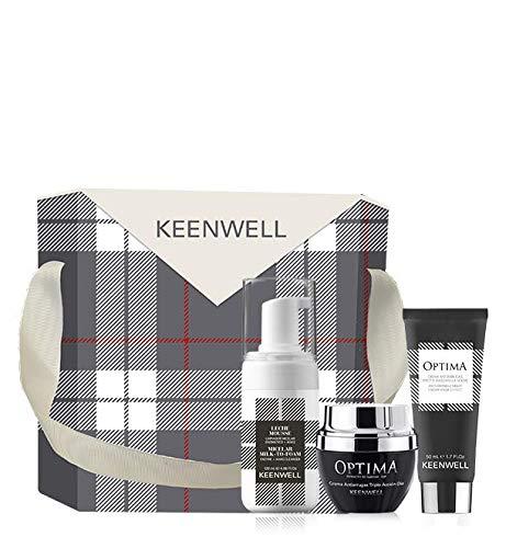 Keenwell, Pack Navidad Óptima Crema Antiarrugas Triple Acci