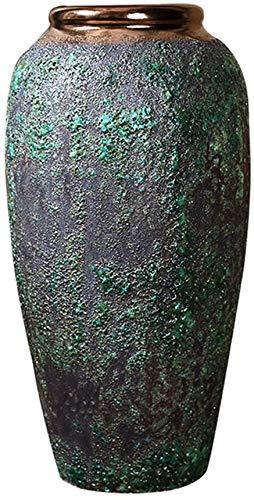 Retro Vaas Decoratie Chinese Porcelain Ceramic Vase Old aardewerken pot Bloempot Floor grote vaas Decoratie,L