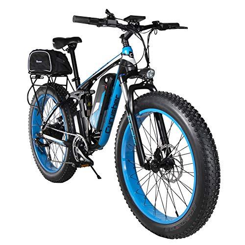 Cyrusher XF800 1000w Electric Fat Bike