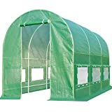 Quictent Portable Greenhouse Large Green Garden Hot House Grow Tent More Size (12' X 7' X 7')