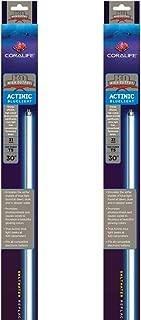 (2 Pack) Coralife 80408 Actinic T-5 High Output Fluorescent Lamp, 31-Watt