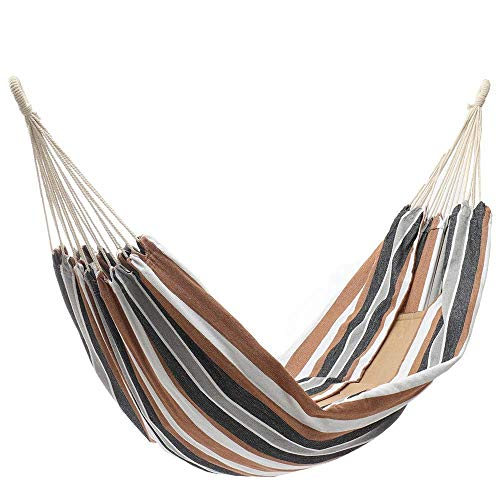 Outdoor Hammock Double Hammock Camping Hanging Swing Bed with Mosquito Net Load 200kg Perfect for Outdoor Gardens Camping