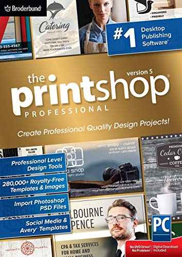 The Print Shop 5.0 Professional - Impressive Design Projects Made Easy [PC Download]