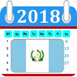Guatemala 2018 Calendar-Holiday