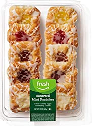 Fresh Brand – Assorted Mini Danishes, 12 oz (10 ct)