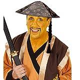 NET TOYS Chinese Schminke Karneval Make Up gelb Theaterschminke Faschingsschminke Halloween Makeup Schminkfarbe Karnevalsschminke Fasching