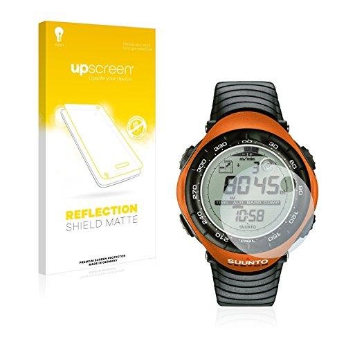 upscreen Entspiegelungs-Schutzfolie kompatibel mit Suunto Vector Orange – Anti-Reflex Bildschirmschutz-Folie Matt