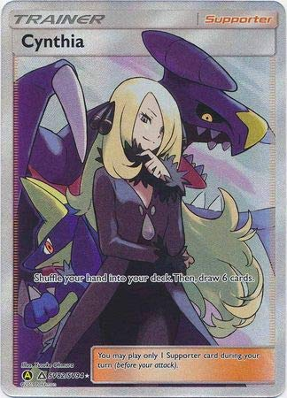 Cynthia - SV82/SV94 - Full Art Ultra Rare - Hidden Fates